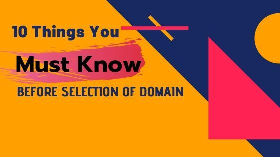 How to Choose best domain name