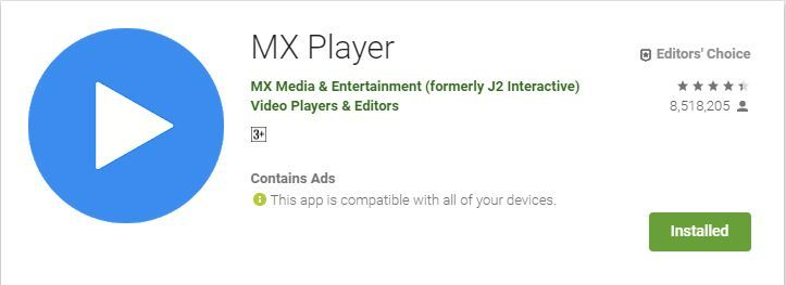 How to download WhatsApp status video in MX Player